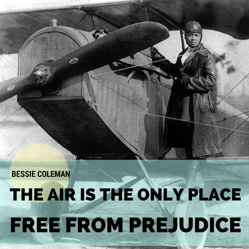 Bessie Coleman, TTT Quotage