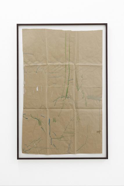 Michael Krebber on Flickr. Michael Krebber Untitled, 2001 Gouache and ballpoint pen on paper 113 x 72.5cm