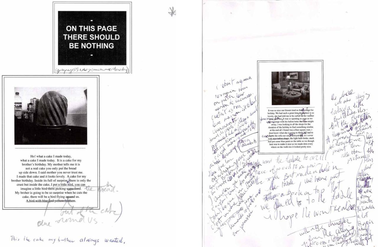 Laure Prouvost (2010), p. 22 - 25