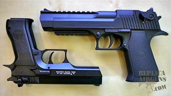 umarex desert eagle and cybergun jericho 941 co2 airgun silent rh replicaairguns com Umarex CO2 Desert Eagle Desert Eagle Magnum Research Inc