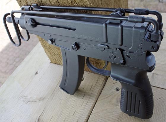 ASG CZ Scorpion VZ61 & B&T BT5 AEG 6mm Airsoft Gun Shooting Update