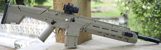 Crosman MK-177 Pellet-BB Multi-pump Air Rifle Table Top