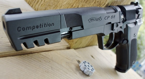 Walther CP88 Competition CO2  177 Caliber Pellet Pistol