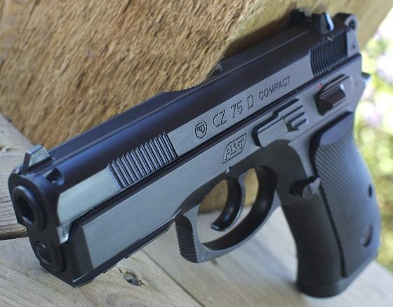 ASG Bersa BP9CC - CZ 75D Compact - CZ 75 P-07 Duty CO2