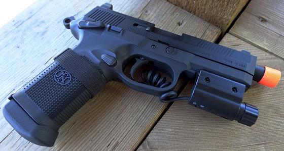 Vfc Fn Herstal Fnx45 Tactical Gbb Airsoft Pistol Table Top Review Replica Airguns Blog Airsoft Pellet Bb Gun Reviews