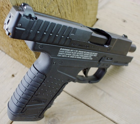 umarex walther pps co2 blowback bb pistol table top review replica