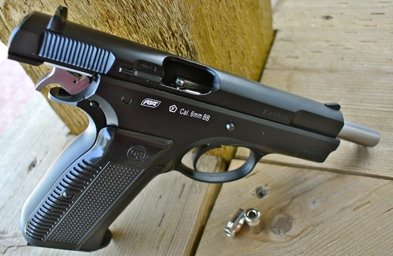 Asg Marushin Cz 75 Blowback Shell Ejecting Airsoft