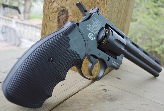 Umarex Colt Python 357 BB Revolver Field Test Shooting Review