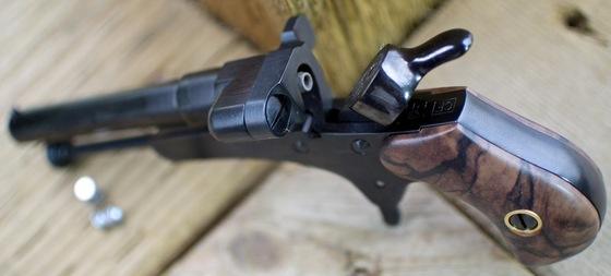 Pedersoli Derringer Guardian #11 4 5mm  177 Pellet Pistol Table Top