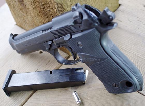 92 Top Venting 8mm PAK Blank Pistol Table Review Replica Airguns Blog