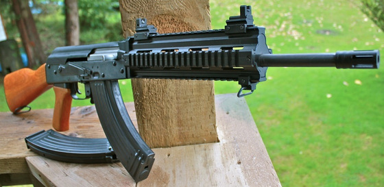 Chinese AK-47 CO2 4 5mm BB Gun Review - Blast from the Past