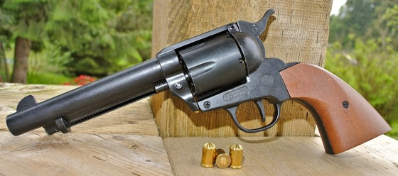 Bruni ME Ranger 1873 Colt Single Action Army Blank Revolver Review