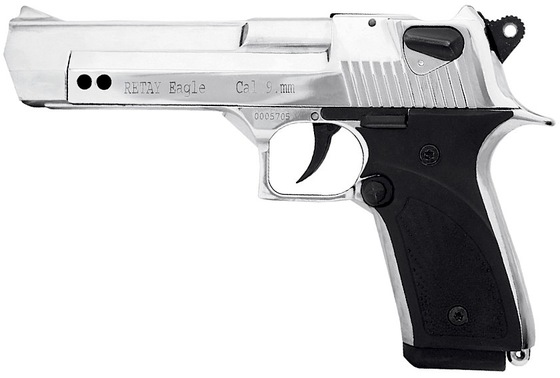 Added Retay Eagle 9mm P A K  Blank Gun to the Store