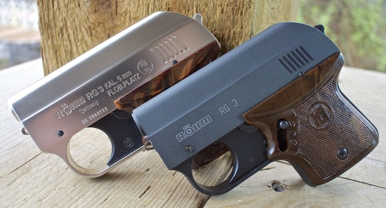 ROHM (RÖHM) RG-300 and RG 3  22 Caliber Blank Pistol Full Review