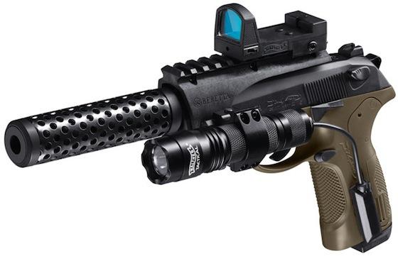 Umarex Beretta PX4 Storm Recon CO2 Blowback Pellet-BB Gun