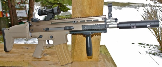 WE AWSS SCAR-L - 6mm Airsoft Rifle Table Top Review