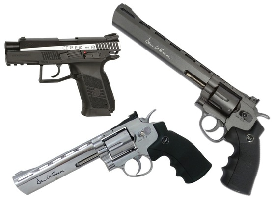 ASG CZ 75 P-07 DUTY and Dan Wesson 6 & 8 inch Revolvers Now Shipping