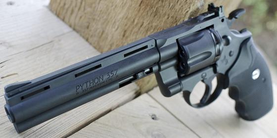 Umarex Polymer Colt Python 357 CO2 BB Revolver Field Test