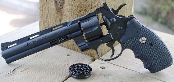 Umarex Polymer Colt Python 357 CO2 BB Revolver Field Test Review
