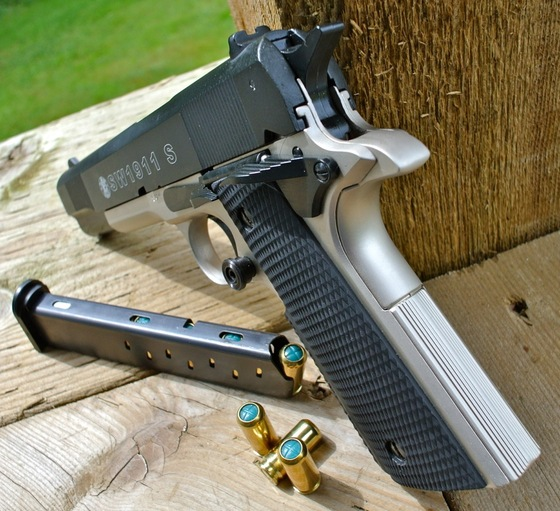 Umarex SW1911 S 9mm P A K  Blank Gun Full Review — Replica Airguns