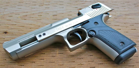 Retay Eagle Desert Eagle 9mm P A K Blank Gun Review Replica