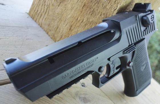 Umarex Magnum Research Baby Desert Eagle Co2 Bb Pistol Table Top Review Replica Airguns Blog Airsoft Pellet Bb Gun Reviews