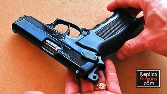 EKOL ARAS 9MM P A K  BLANK GUN REVIEW — Replica Airguns Blog