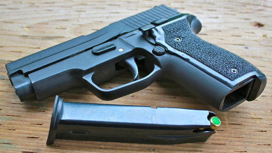 Retay Baron HK - Sig Sauer P228 9mm P A K  Blank Gun Review