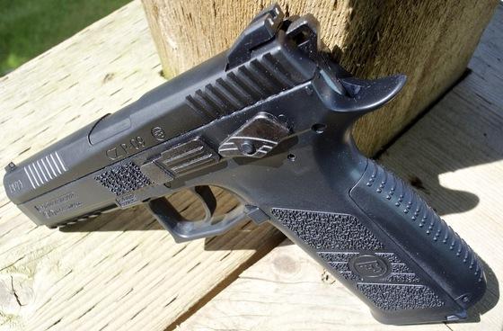 ASG CZ P-09 Duty CO2 Blowback Pellet - BB Pistol Table Top