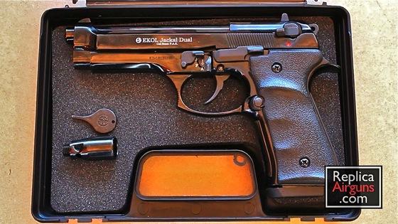 ekol jackal dual 9mm p a k blank gun review replica airguns blog rh replicaairguns com 9Mm Blanks Beretta 9Mm Blank