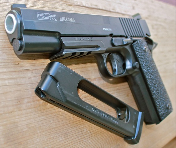 cybergun sig sauer gsr sigarms all metal added to the store