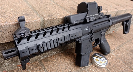 Sig Sauer Mpx Asp 177 Caliber Pellet Rifle Table Top