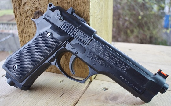 Daisy Powerline Model 617X (Beretta 92) CO2 Pellet/BB Pistol