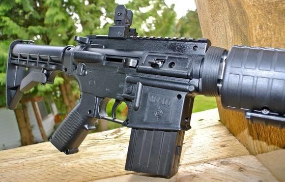 Crosman M4-177 Pellet-BB Multi-pump Air Rifle Table Top