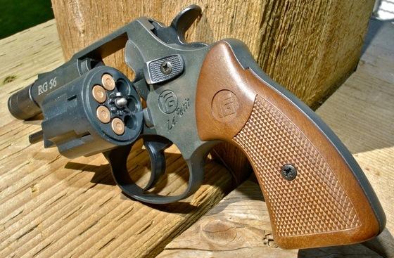ROHM Le Petit RG-56 and Little Joe 6mm - 22 Caliber Blank Revolver