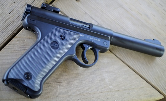 ASG Ruger MK 1 Gas 6mm Airsoft Pistol Field Test Shooting