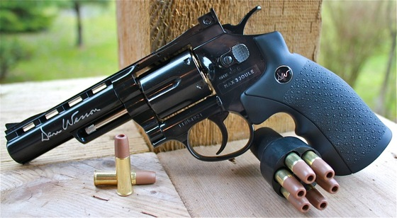 ASG Dan Wesson 2 5 inch Silver & 4 inch Black CO2 BB Revolver Review