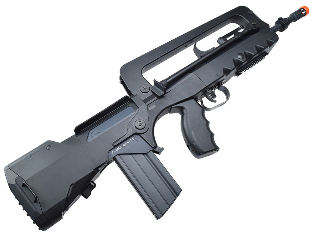 Cybergun Famas AEG Airsoft Rifle Right Side Angle.jpg