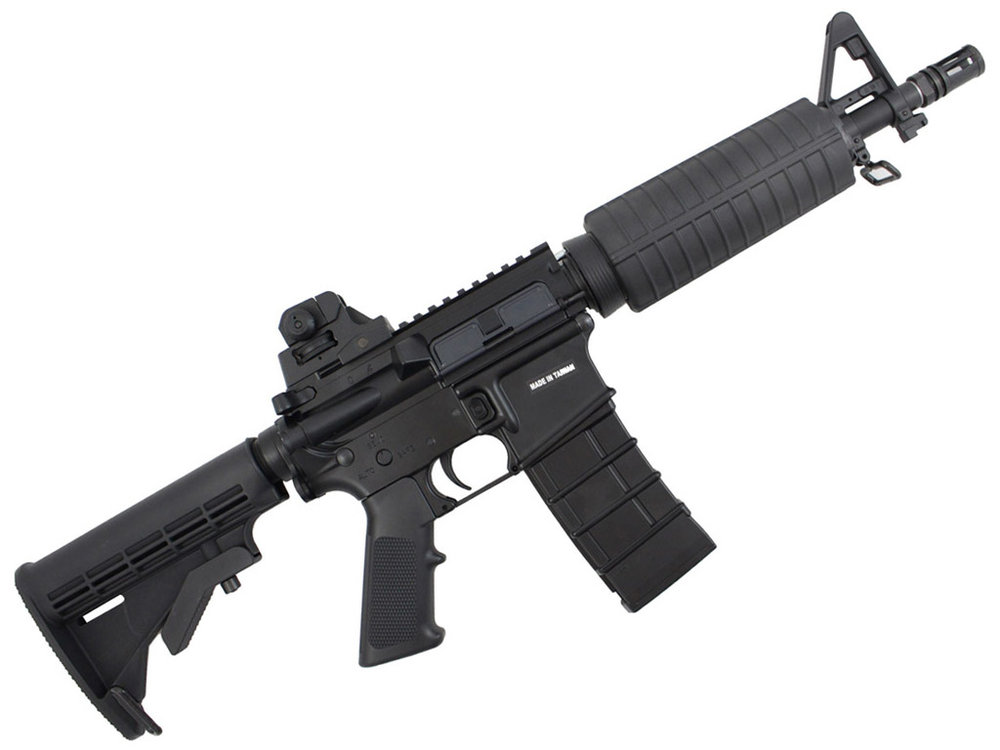 KJWorks M4 CQB Carbine GBB Airsoft Rifle Right Side.jpg