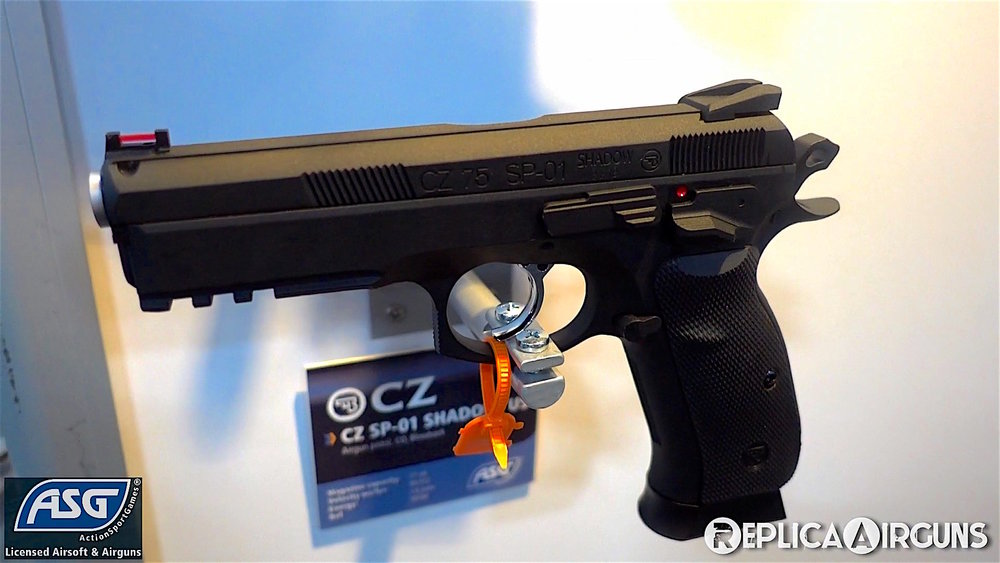 SHOT Show 2018 ASG CZ SP-01 Shadow Blowback BB Pistol.jpg
