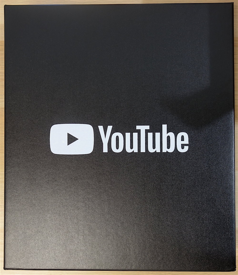 YouTube 100000 Subscriber Award Box.JPG