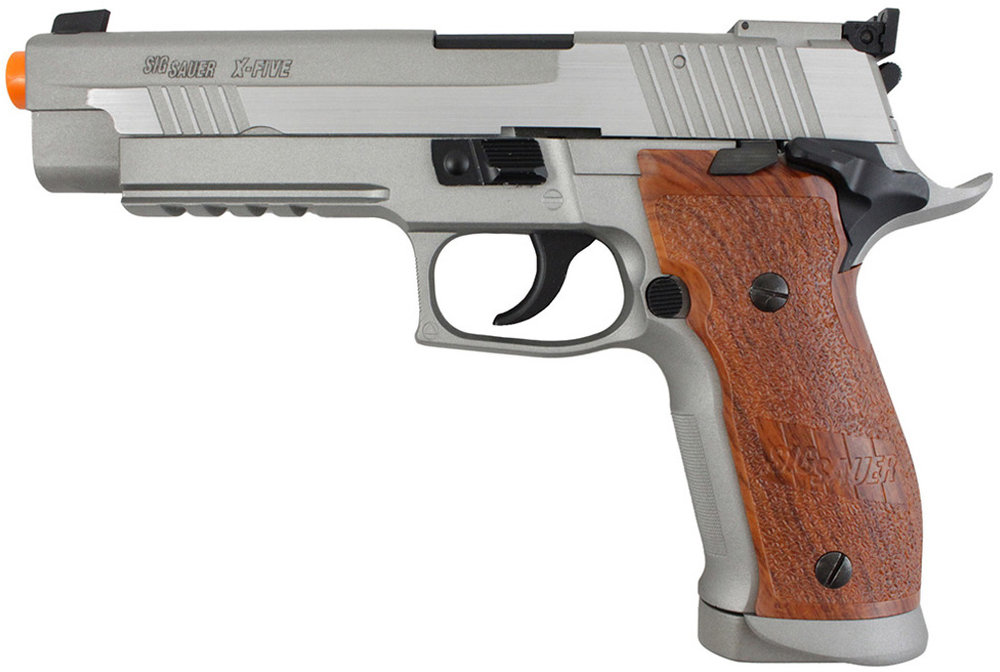 Cybergun Sig Sauer X-Five Stainless Airsoft Left Side.jpg