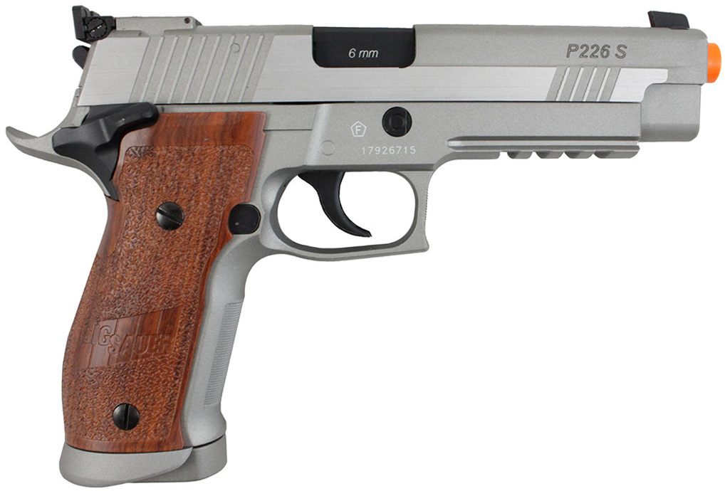 Cybergun Stainless Sig Sauer X-five CO2 Blowback Airsoft
