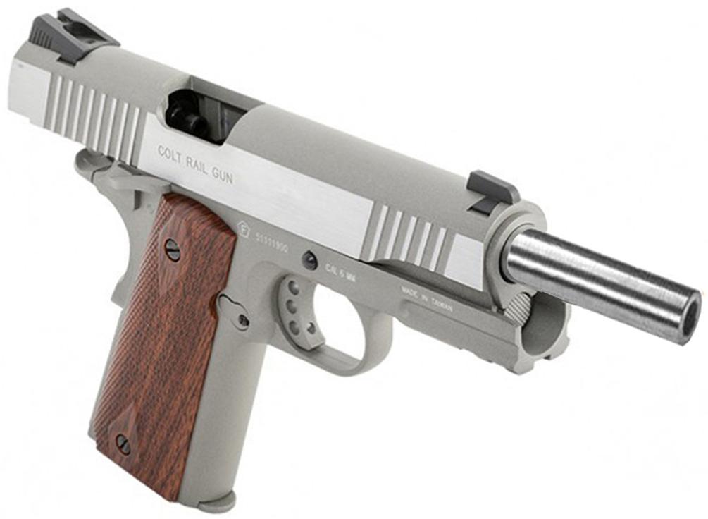 Cybergun Colt 1911 Rail Gun Series CO2 Blowback Airsoft