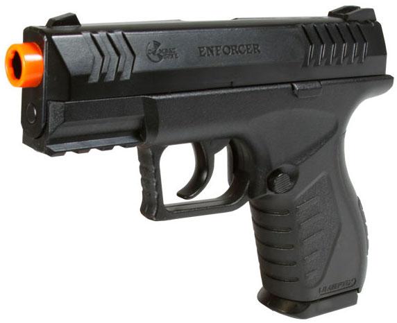 Umarex Enforcer CO2 Airsoft Pistol Left Side Angle.jpeg
