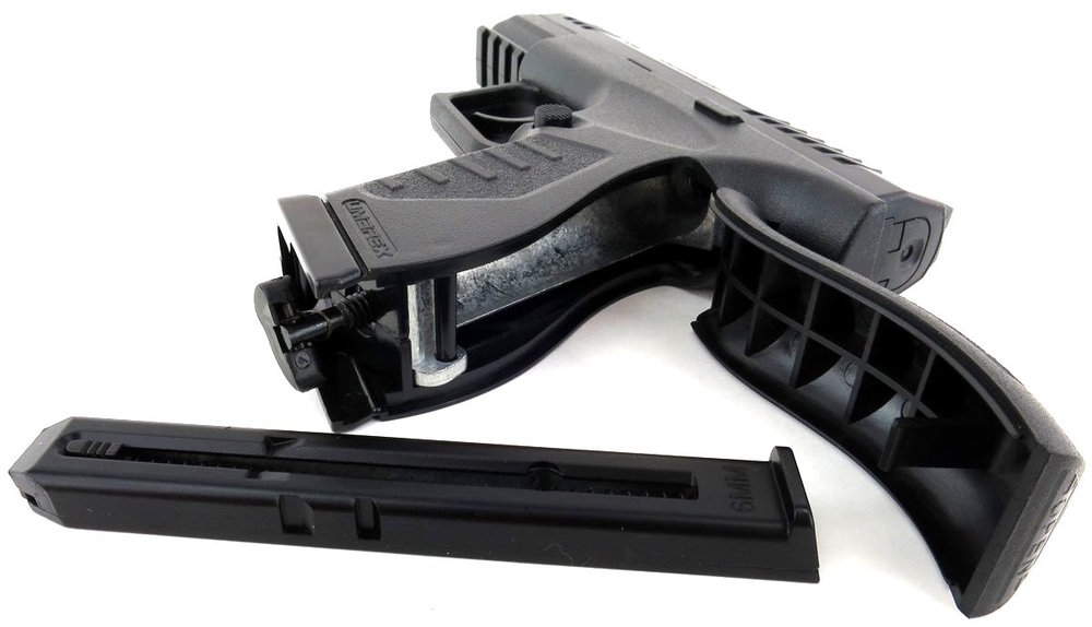 Umarex Enforcer CO2 Airsoft Pistol Rear CO2 Open.jpg