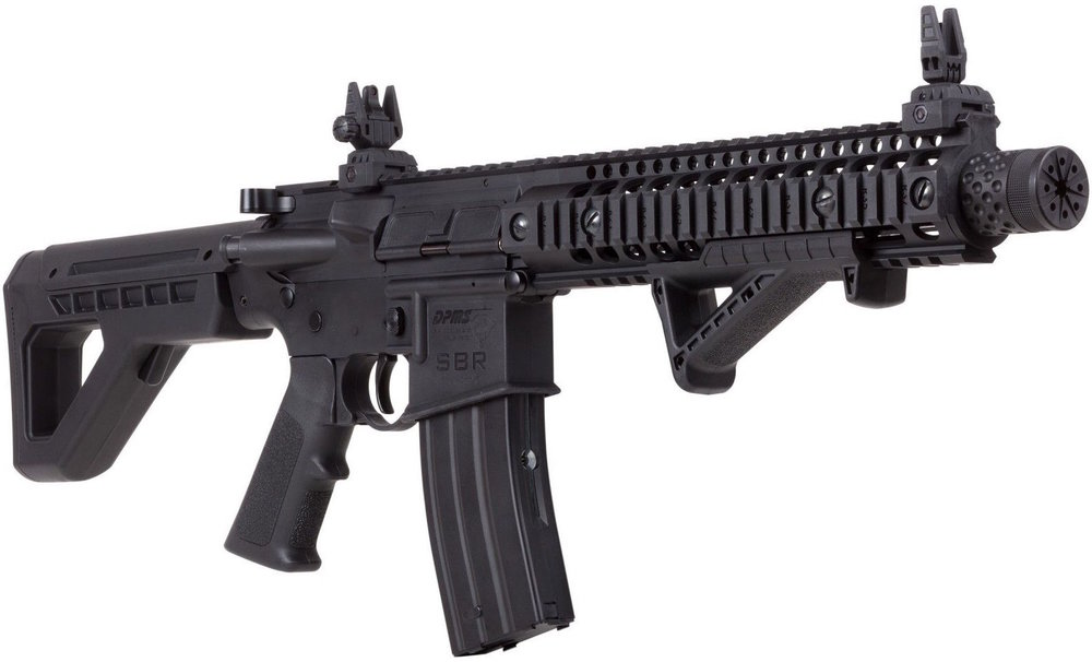Crosman DPMS SBR CO2 Blowback BB M4 Right Side Angle.jpg