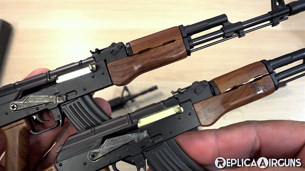 Quarter Scale Mini Guns AK 47 Both.jpg