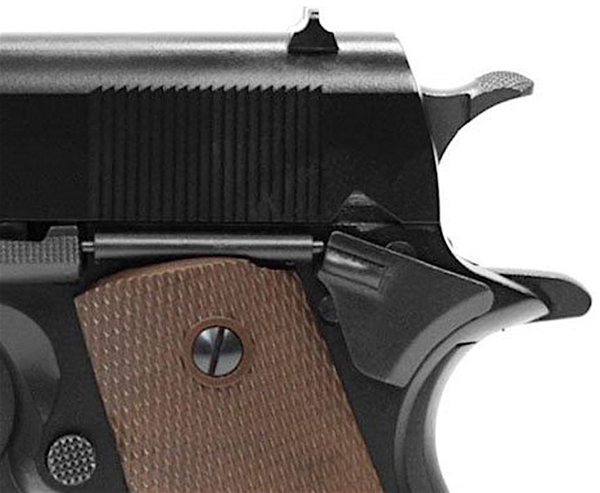 KWA M1911A1 GBB Airsoft Pistol Left Side Hammer.jpg