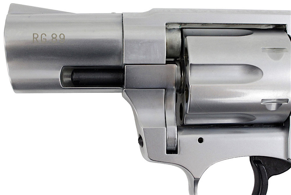 ROHM RG-89 .380 Caliber Blank Revolver Left Side Barrel.jpg